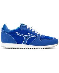 Mizuno - Panelled Sneakers - Lyst