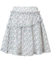 Jourden - Gasha Gathered Skirt - Lyst