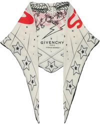 Givenchy - Creatures Print Scarf - Lyst