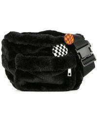 G.v.g.v - Faux Fur Belt Bag - Lyst