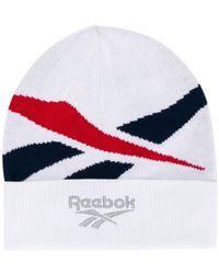 Reebok - Logo Beanie - Lyst