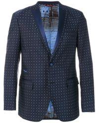 Al Duca D'aosta | Dot Effect Suit Jacket | Lyst
