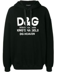 Dolce & Gabbana - Felpa King's Angels - Lyst