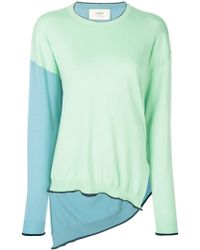 Ports 1961 - Color-blocked Sweater - Lyst