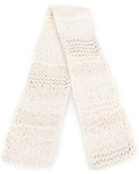 Pringle of Scotland - Hand Knitted Scarf - Lyst