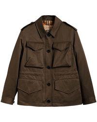 Burberry - Showerproof Field Jacket - Lyst