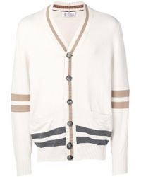 Brunello Cucinelli - Relaxed-fit Cardigan - Lyst