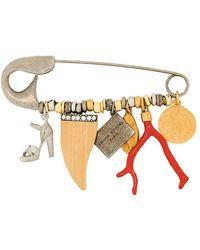 Sonia Rykiel - Hanging Charm Pin - Lyst
