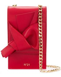 N°21 - Abstract Bow Cellphone Bag - Lyst