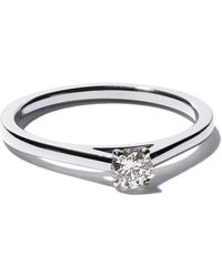 De Beers - Platinum My First Db Classic Solitaire Diamond Ring - Lyst