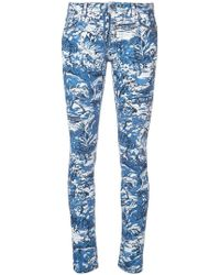 Off-White c/o Virgil Abloh - Printed Skinny Jeans - Lyst