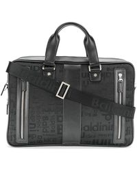 Baldinini - Embroidered Text Laptop Bag - Lyst