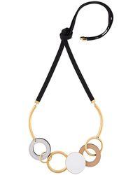 Marni Circular Pendant Necklace
