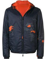 Emporio Armani - Camouflage Effect Jacket - Lyst