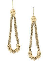 Aurelie Bidermann - Alhambra Earrings - Lyst