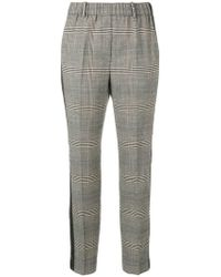 Incotex - Pantalones Prince of Wales estampados - Lyst