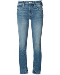 Mother - Skinny Ankle-grazer Jeans - Lyst