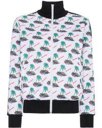 Palm Angels - Palm Print Sports Jacket - Lyst