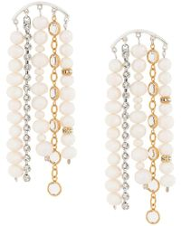 Magda Butrym - Large Faux-pearl Drop Earrings - Lyst