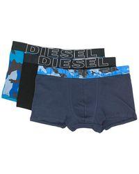 DIESEL - Camouflage Boxer Briefs - Lyst