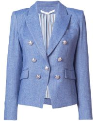 Veronica Beard - Double Breasted Blazer - Lyst
