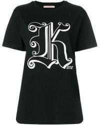 Christopher Kane - Printed T-shirt - Lyst