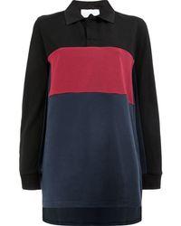 Koche - Color Block Polo Shirt - Lyst