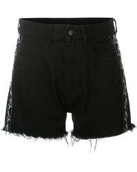Marcelo Burlon - Frayed Shorts - Lyst