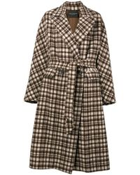 Erika Cavallini Semi Couture - Double Breasted Peacoat - Lyst