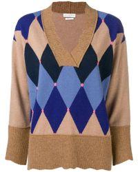 Diamond Lyst Knit Lyst Knit Knit Sweater Lyst Ballantyne Knit Diamond Ballantyne Sweater Ballantyne Diamond Diamond Ballantyne Sweater EqfEnXwO