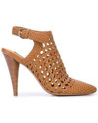 Veronica Beard - Livia Crochet Design Sandals - Lyst