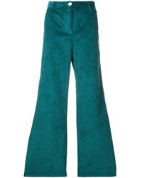 MASSCOB - Corduroy Flared Trousers - Lyst