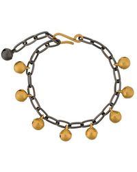 Ileana Makri - Jingle Bell Chain Bracelet - Lyst