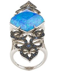 Stephen Webster - Crystal Haze Long Finger Ring - Lyst