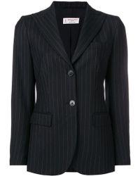 Alberto Biani - Pinstripe Suit Jacket - Lyst