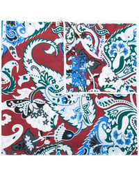 KENZO - Paisley Print Scarf - Lyst