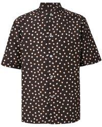 Ferragamo - Abstract Print Shirt - Lyst