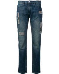 Brockenbow - Embellished Patchwork Jeans - Lyst