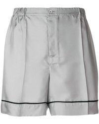 Prada | Silk Shorts | Lyst