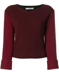 Vince - Long-sleeve Fitted Jumper - Lyst