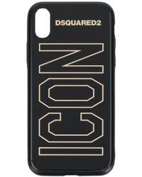 DSquared² - Icon Slogan I Phone X Case - Lyst