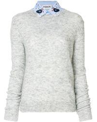 Essentiel Antwerp - Mohair Blend Paraty Sweater - Lyst
