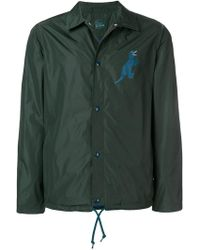 PS by Paul Smith - Dino Print Coach Jacket - Lyst