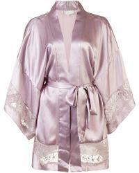 Fleur du Mal - Chateau Kimono Robe - Lyst