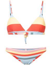 Beautiful Bottoms - Striped Bikini - Lyst