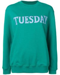 Alberta Ferretti - 'tuesday' Sweatshirt - Lyst