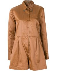 Bottega Veneta - Work Wear Playsuit - Lyst