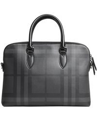Burberry The Barrow In Patent Leather in Blue for Men - Lyst 7bf2990578927