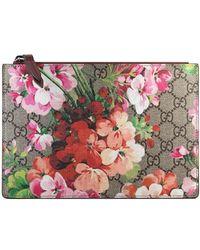 Gucci - 'GG Blooms' Portemonnaie - Lyst