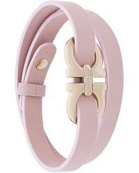 Ferragamo   Double Gancio Wrap Bracelet   Lyst